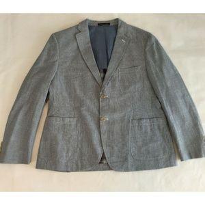 Ralph Lauren LRL Mens 42S Blazer Jacket Coat Blue